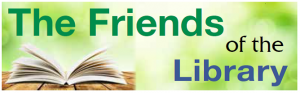The Friends of the Library Logo