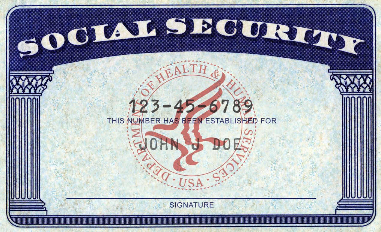 West Islip Library Public - Social-security-card
